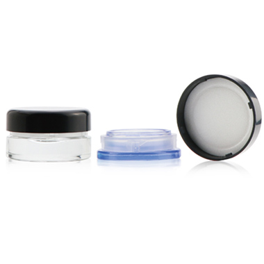 Round Glass Concentrate Container CR LID