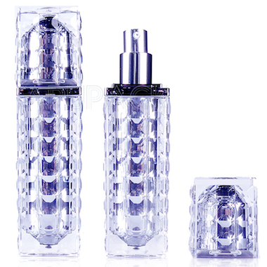 Square Acrylic Bottle for Men
