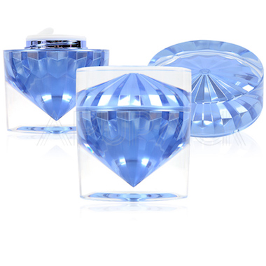 Luxury Diamond Jar with Thick Wall
